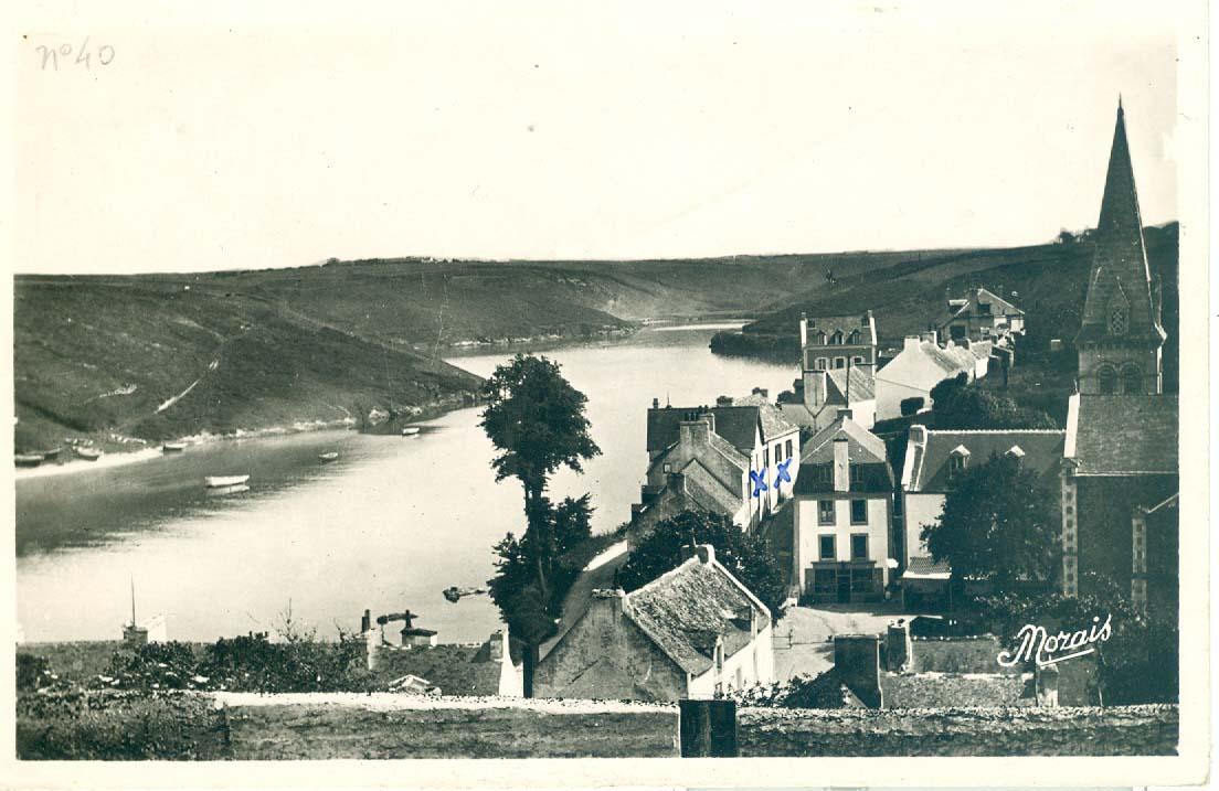 Vue du haut du Port, de la rue du Canon